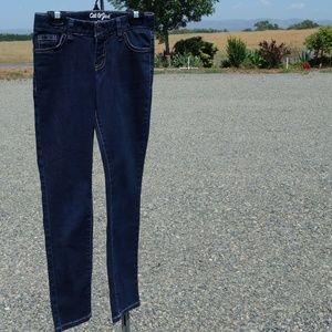 Cat & Jack skinny stretch jeans size 8 like new